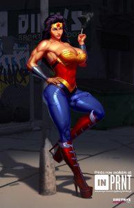 Futa Superwoman by Dmitry