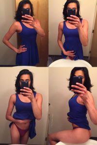 amateur trap bathroom mirror selfie